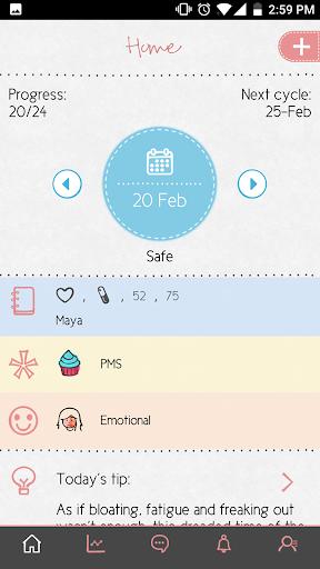 Maya - Period, Fertility, Ovulation & Pregnancy  Screenshots 6
