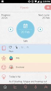 Maya - Period, Fertility, Ovulation & Pregnancy
