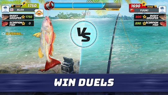 Fishing Clash APK MOD HACKEADO (Dinero Infinito) 2