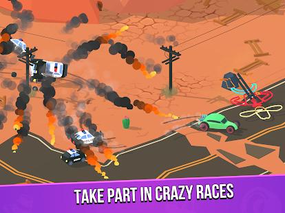 Image For Smash racing: drive from cops, make an epic crash! Versi 6.7.7 17
