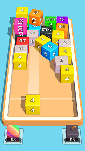 2048 3D: Shoot & Merge Number Cubes, Block Puzzles 1.703 screenshots 2