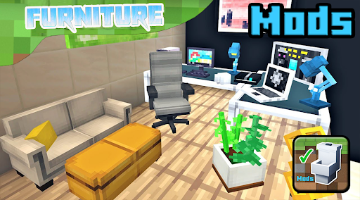 Mod furniture. Furnicraft mods for Minecraft PE 1.0 screenshots 1