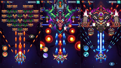 Galaxiga: Classic Galaga 80s Arcade - Free Games modavailable screenshots 14