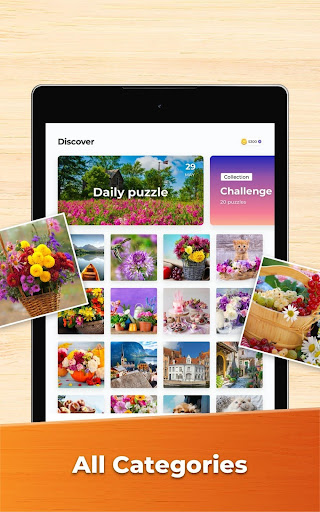 Jigsaw Puzzles - HD Puzzle Games 2.9.1-20111281 screenshots 17