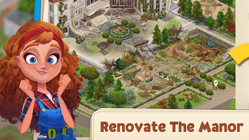 Merge Manor : Sunny House apkdebit screenshots 1