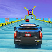 Extreme GT Racing Car Driving Stunts - Mega Ramps
