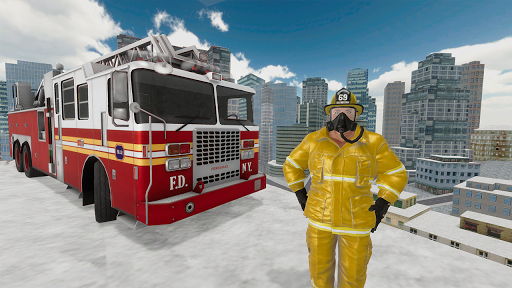 Fire Truck Driving Simulator 1.34 Screenshots 11