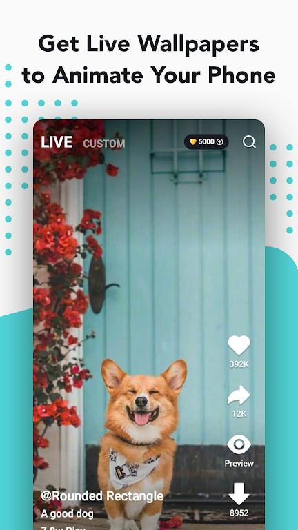 NoxLucky - HD Live Wallpaper, Caller Show, 4D, 4K  poster 1