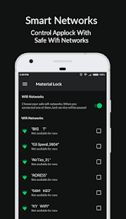 Applock Material - Lock Apps (No-Ads) Screenshot