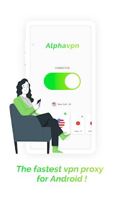 Alpha VPNのおすすめ画像1