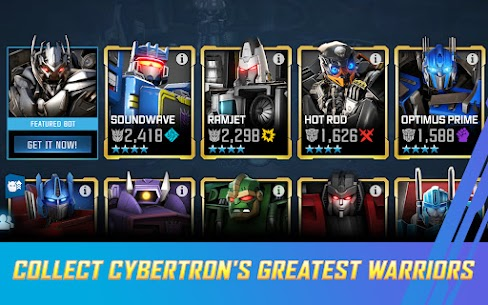 Transformers Forged to Fight MOD APK 4