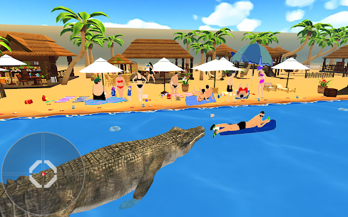 Crocodile Hunter 3d : Hungry Crocodile Attack Game Online Hack Android & iOS 2