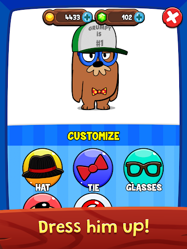 My Grumpy - The World's Moodiest Virtual Pet!  screenshots 9