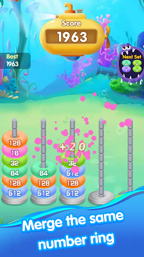 Ocean Ring Master-Number Puzzle Game 1.0.7 screenshots 1