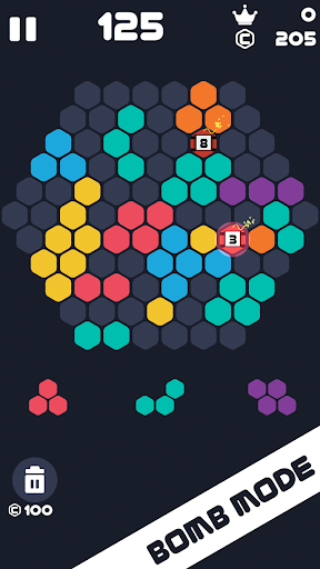 Hexa Mania Fill Hexagon Puzzle, Hex Block Blast  screenshots 3