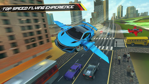 Flying Car Driving 2020 - Real Driving Simulator  Screenshots 6