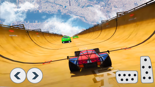 Superhero Car Stunts - Racing Car Games 1.0.8 screenshots 2