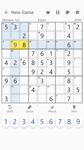 Killer Sudoku - Free Sudoku Puzzles+ modiapk screenshots 1