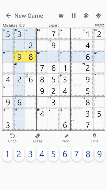 Imágen 2 de Killer Sudoku - Free Sudoku Puzzles+ para android