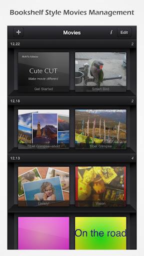 Cute CUT - Video Editor & Movie Maker 1.8.8 screenshots 4