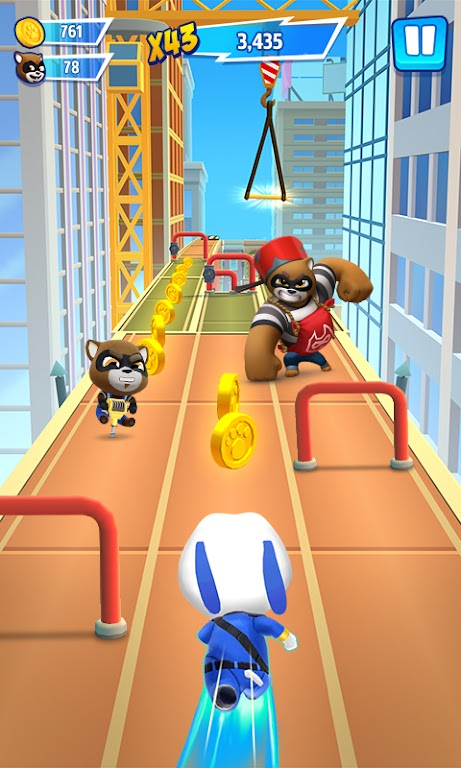 Talking Tom Hero Dash - Run Game  poster 1