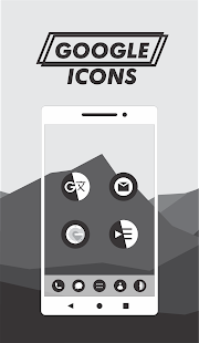 Darkmatte - Flat Dark Icon Pack Screenshot