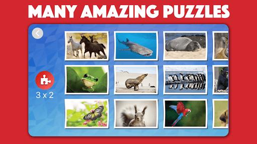 Kids animal jigsaw puzzles 2021.50 screenshots 1