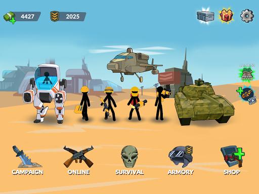 Stickman World War 1.0 screenshots 16