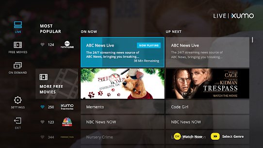 XUMO for Android TV: Free TV shows & Movies 1