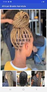 African braids hairstyle 2021 ud83dude0d - offline 22.0 Screenshots 6