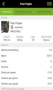 WhoScored Football App screenshots 6
