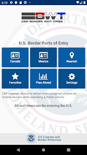 CBP Border Wait Times 1