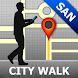 Sanaa Map and Walks