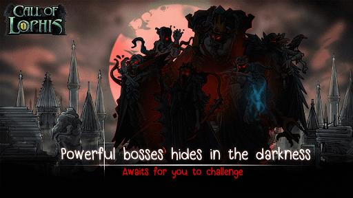 Lophis Roguelike:Card RPG game,Darkest Dungeon apkdebit screenshots 5