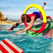 Speed Robot Water Stuntman Adventure