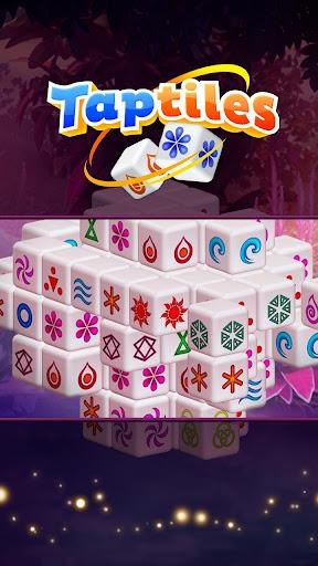 Taptiles - 3D Mahjong Puzzle Game modiapk screenshots 1