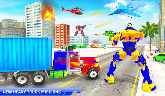 Police Truck Transform Robot 51 Screenshots 8
