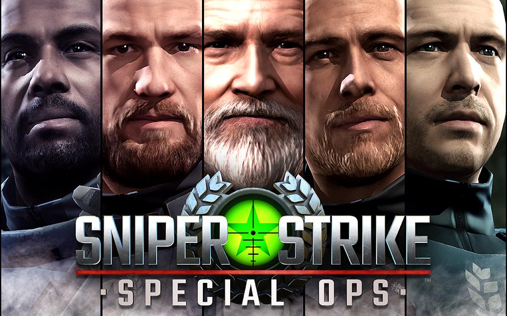 Sniper Strike APK Mod poster 4