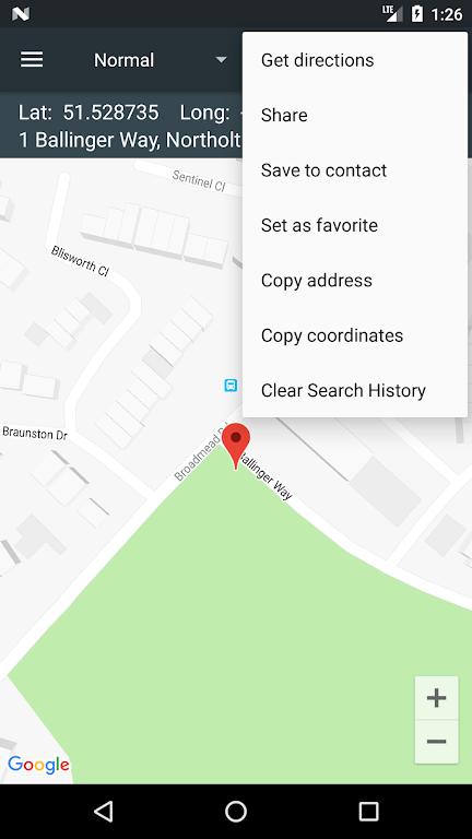 Map Coordinates poster 6