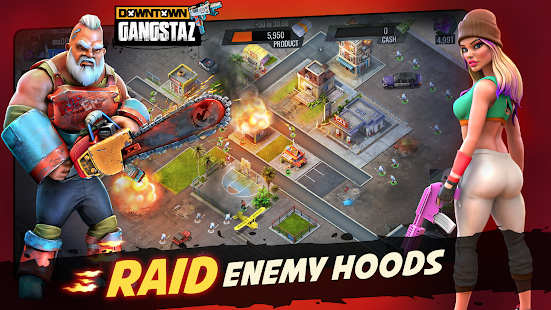 Downtown Gangstas: Gangster City - Hood Wars Screenshot