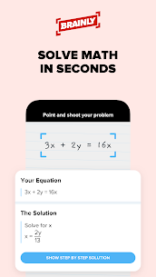 Brainly – Home Learning  Homework Help Apk 2