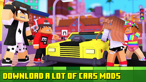Cars Mod - Vehicles Addon 1.0 Screenshots 1