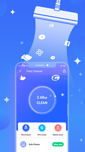 Fast Cleaner : Powerful Clean & CPU Cooler modavailable screenshots 1