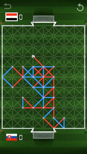 kick it - paper soccer screenshot 1