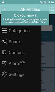 Affirmation Pod Access