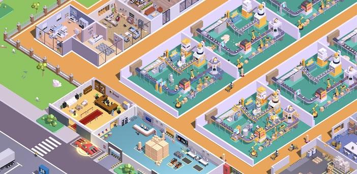 Super Fabrik - Tycoon Game