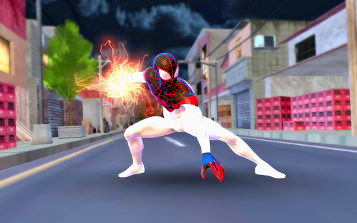 Spider Hero Rope Fight Ninja Gangster Crime City 7.0 screenshots 4