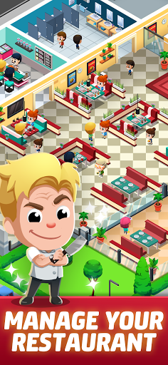 Idle Restaurant Tycoon - Build a cooking empire 1.1.1 screenshots 2