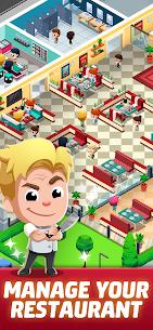 Idle Restaurant Tycoon Apk + Alışveriş Hileli indir v1.2.1 2