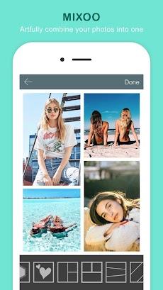 Mixoo - 写真コラージュ編集、インスタグラム用レイアウトのおすすめ画像1